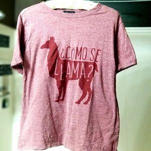 """Llama shirt """" Como se Llama ?"""""""